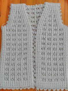 Knit Cardigan Pattern, Crochet Vest Pattern, Jacket Pattern, Crochet Cardigan, Crochet Top, Knit Vest, Baby Knitting Patterns, Lace Knitting, Knitting Designs