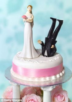 The macabre cakes that are such a tasteless way to celebrate divorce