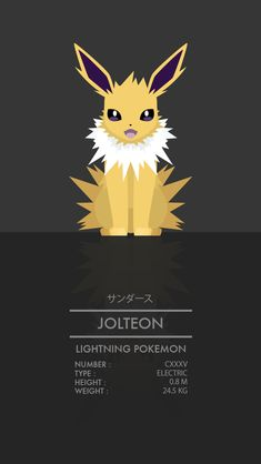 Jolteon by WEAPONIX on DeviantArt