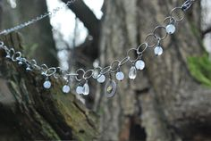 The Drop Of Gold | SILVER CHAIN NECKLACE - product image