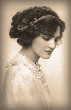 Miss Lily Elsie #vintage #portrait Plus