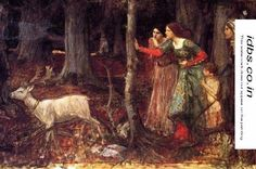 The Mystic Wood 1914-17 by John William Waterhouse