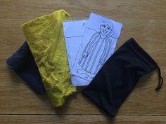 Rainbowsaretoobeautiful: Prepping for camping with Sleeping Bag craft activity