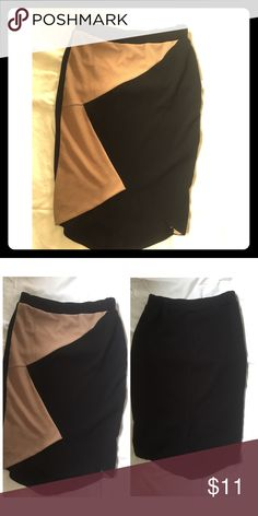Asymmetrical hot skirt! Very flattering, for fitting, asymmetrical skirt only worn once. Great condition! Skirts
