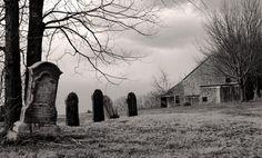 The Graveyard - by photographer Caroline M. Samson