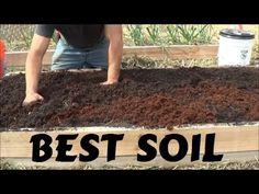 Best Soil For Rasied Garden Bed - YouTube