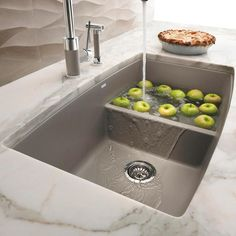 Exceptional Kitchen Remodeling Choosing a New Kitchen Sink Ideas. Marvelous Kitchen Remodeling Choosing a New Kitchen Sink Ideas. Best Kitchen Sinks, Kitchen Redo, Kitchen And Bath, Cool Kitchens, Kitchen Remodel, Grey Kitchen Sink, Blanco Kitchen Sinks, Large Kitchen Sinks, Double Kitchen Sink