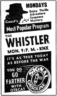 The Whistler-one of my favorite old time radio shows Vintage Advertisements, Vintage Ads, Retro Ads, Vintage Photos, Cinnamon Bears, Old Time Radio, Star Show, Record Players, Thats The Way