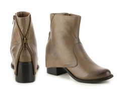 Women's Two Lips Ashley Western Bootie - Taupe