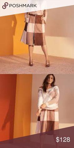 d52022bf2 Prabal Gurung Faux Suede Midi Skirt Size 14, 16 PRABAL GURUNG x LANE BRYANT  Faux