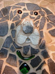 ... Stones, Mosaic Stepping Stones, Dogs Step, Stepping Stones Garden