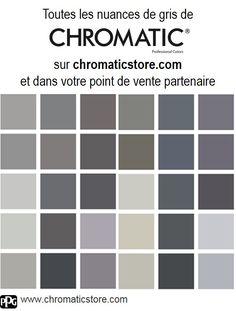 Finalisez votre projet peinture en vous rendant dans l'un de nos points de vente partenaires. Trouvez votre distributeur sur www.chromaticstore.com #Gris #déco