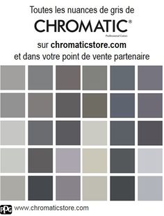 Comment associer la couleur gris en d coration for Nuancier peinture gris perle