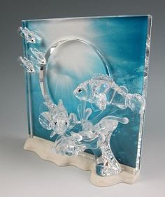 Swarovski Swarovski Harmony Clear 2005 Annual Edition # #Art Harmony is a part of the 'Wonders of the Sea' trilogy. Harmony has clear clown fish. The Harmony display is over 8