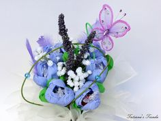 Candy Edibles Bouquet Spring Tulips by Tatiana's Tienda on Etsy,