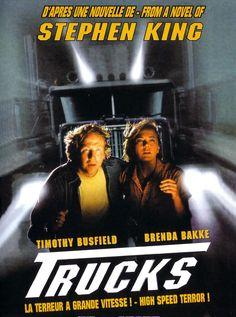 Comboio do Terror (Trucks, Stephen Kings, Stephen King Film, See Movie, Movie Tv, Horror Movie Posters, Horror Film, Horror Movies, Film Blade Runner, Movies