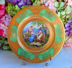 Limoges French decorated