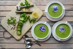 Rens Kroes | Chilled cucumbersoup
