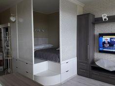 Кровать подиум укромный уголок