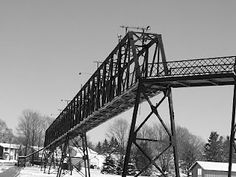 that old iron bridge  http://noonegoes.blogspot.com/  http://www.facebook.com/pages/No-One-Goes-2-Palmerston-Ontario/159232037516315
