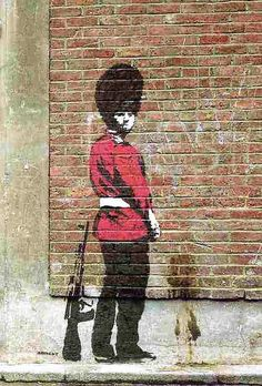Want some Banksy prints in Australia? Check out our wide range of Banksy prints, canvas prints and posters and buy online today! Arte Banksy, Banksy Graffiti, Graffiti Artwork, Art Mural, Bansky, Murals, Graffiti Wall, Street Art Banksy, 3d Street Art