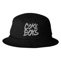88d275e632e Coke Boys Embroidered Bucket Hat Bucket Hat
