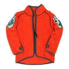 Ulan Fleece Jacket/Fire