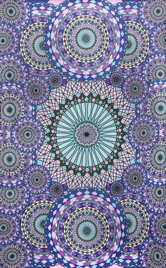 Mesmerizing medallion tapestry crafted in soft woven cotton. Instantly adds a unique touch of boho charm to any living space or dorm room. Doubles as a beach or picnic blanket or even a tablecloth and