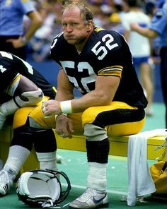 Mike Webster, Pittsburgh Steelers. Class of 1997.
