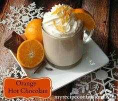 Orange Hot Chocolate!