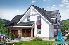 Проект дома с партером, мансардой и гаражом для одного автомобиля-100661 http://www.proiectari.md/ru/property/proiect-de-casa-cu-parter-mansarda-si-garaj-pentru-un-automobil-100661/