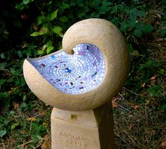 kunstner glas mosaik - Google Search