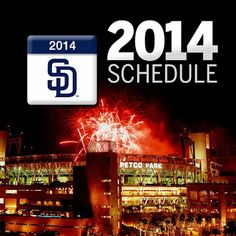 San Diego Padres 2014 Schedule