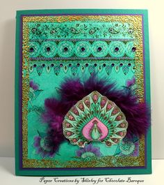 Indian Designs with Zingy colours (by Shirley)