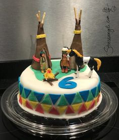 Indianer-Party Indoor – Stressvögeli - New Site Indian Birthday Parties, Wild One Birthday Party, Diy Birthday, First Birthday Parties, Birthday Cake, Anniversaire Cow-boy, Cheap Party Decorations, Pumpkin Spice Cupcakes, Oreo Cupcakes