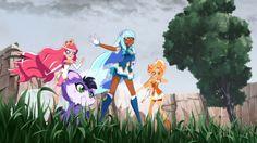 Episode 8 - Les LoliRock Les Lolirock, Glitter Force, Pretty Cure, Princess Zelda, Disney Princess, Magical Girl, Dragon Ball, Zodiac, Disney Characters