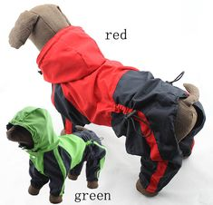 Large big Dog golden retriever RainCoat Rainsuit Four feet waterproof Dogs cat pet Puppy hoodie poncho Jacket Clothes PETS CARE HUB Large Dog Clothes, Pet Clothes, Big Dogs, Large Dogs, Le Plus Grand Chien, Chihuahua, Westie Puppies, Waterproof Poncho, Green Costumes