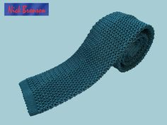 NIXK BRONSON - SILK KNITTED TIE - COLOUR: CACTUS  http://timothyeverest.co.uk/shop/section.php/2/1/ties