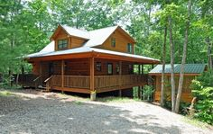 Blairsville Vacation Rental - VRBO 113349 - 2 BR Northeast Mountains Cabin in GA, Dancing Bear - Your Honeymoon Cabin with Hot Tub in the Wo...