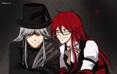 Undertakers Madness O Undertaker And Grell By SSRozen Please Sebaciel Black Butler