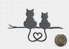 Free Machine Embroidery heart