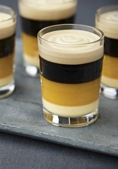Café Festival   This drink recipe tastes just as delightful as it looks. Try serving this coffee creation at your next big celebration: your friends and family are sure to be impressed by the presentation.