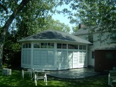 Adding on to a home can be easy and natural looking Home Additions, Home Remodeling, Gazebo, New Homes, Outdoor Structures, Canning, Natural, Building, Easy