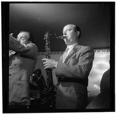 Bud Freeman and Marty Marsala, Jimmy Ryan's (Club), New York, N.Y., ca. July 1947