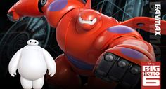 Big Hero 6 - you'll fall in love with the puffy adorable Baymax