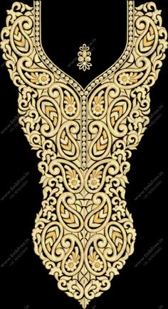 Embroidery Designs Online, Embroidery Motifs, Embroidery Fashion, Machine Embroidery Designs, Green Velvet Dress, Beauty Full Girl, Blouse Vintage, Designs To Draw, Neckline