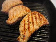 Côtelettes de porc en grillade