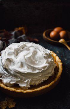 Pumpkin pie glutenfree food styling photography