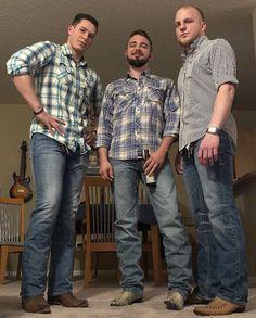 Gear Yeah? Hot Country Men, Country Boys, Button Down Shirt, Men Casual, Mens Tops, Shirts, Fashion, Moda, Dress Shirt