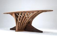 Amazing wooden table by Philip Koomen